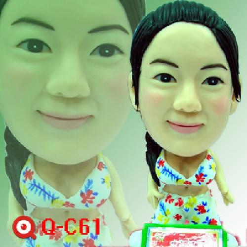 Q-C61-青春陽光女孩公仔娃娃指定版